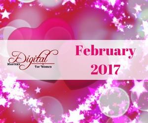 Digital Mastery for Women – February 2017